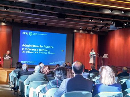 CCP participou na conferência promovida pelo CES