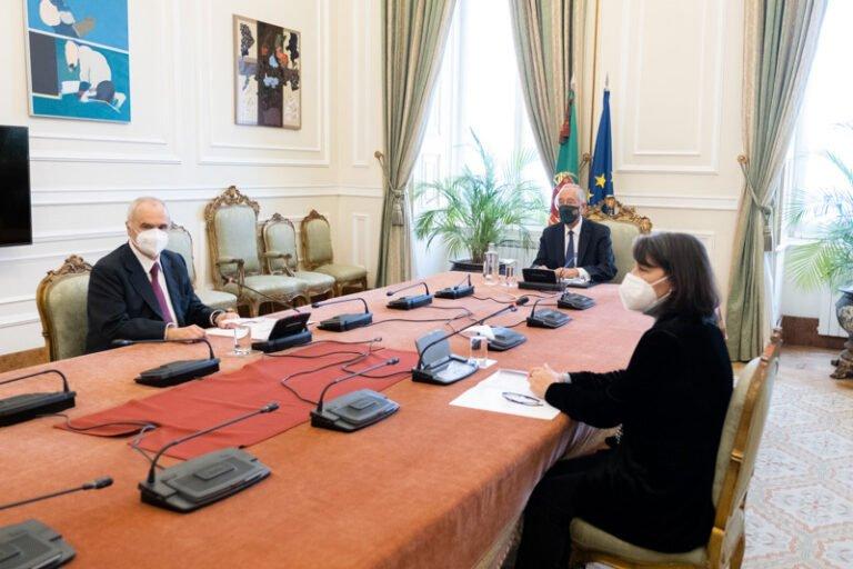 Presidente da República recebeu a CCP